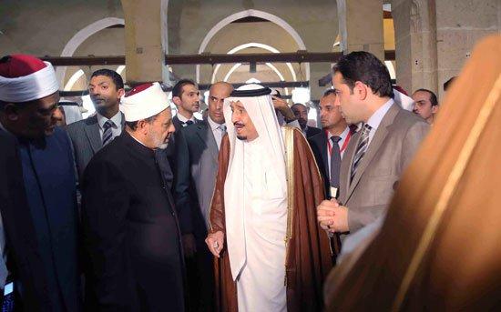 زيارة الملك لجامع الازهر21