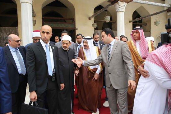 زيارة الملك لجامع الازهر25