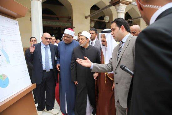 زيارة الملك لجامع الازهر26