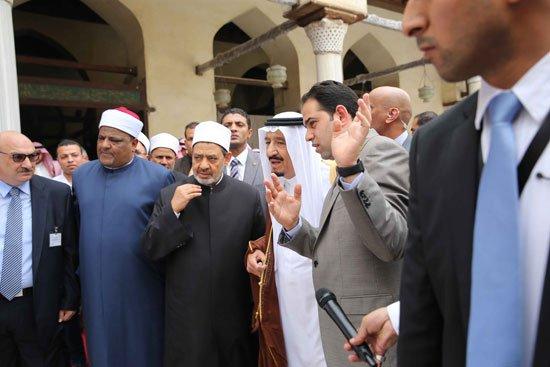 زيارة الملك لجامع الازهر27