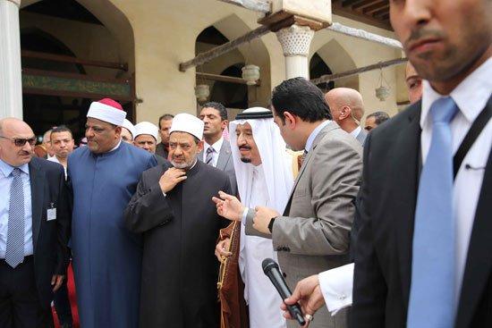 زيارة الملك لجامع الازهر28