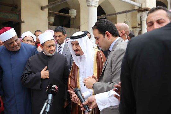 زيارة الملك لجامع الازهر29