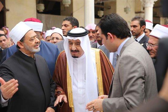 زيارة الملك لجامع الازهر30