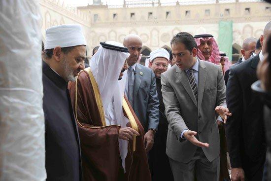 زيارة الملك لجامع الازهر31