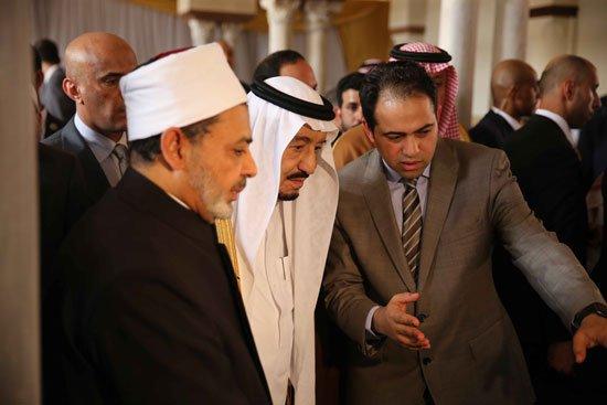 زيارة الملك لجامع الازهر32
