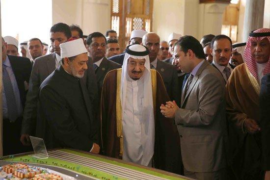 زيارة الملك لجامع الازهر33