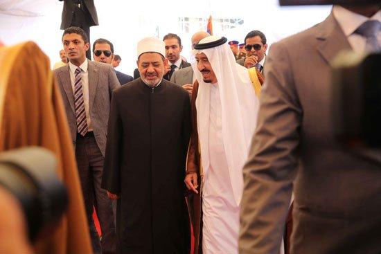 زيارة الملك لجامع الازهر6