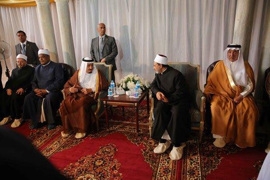 زيارة الملك لجامع الازهر7