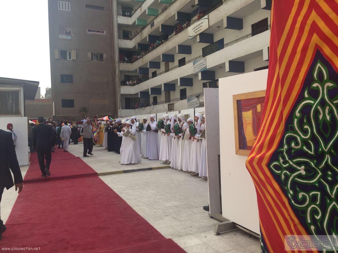 زيارة الوفد الاعلامي السعودي لقصور الثقافة بالقاهرة (1)