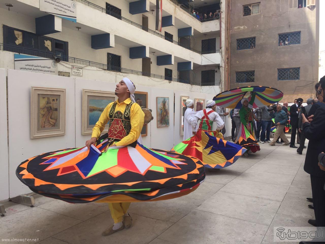 زيارة الوفد الاعلامي السعودي لقصور الثقافة بالقاهرة (10)