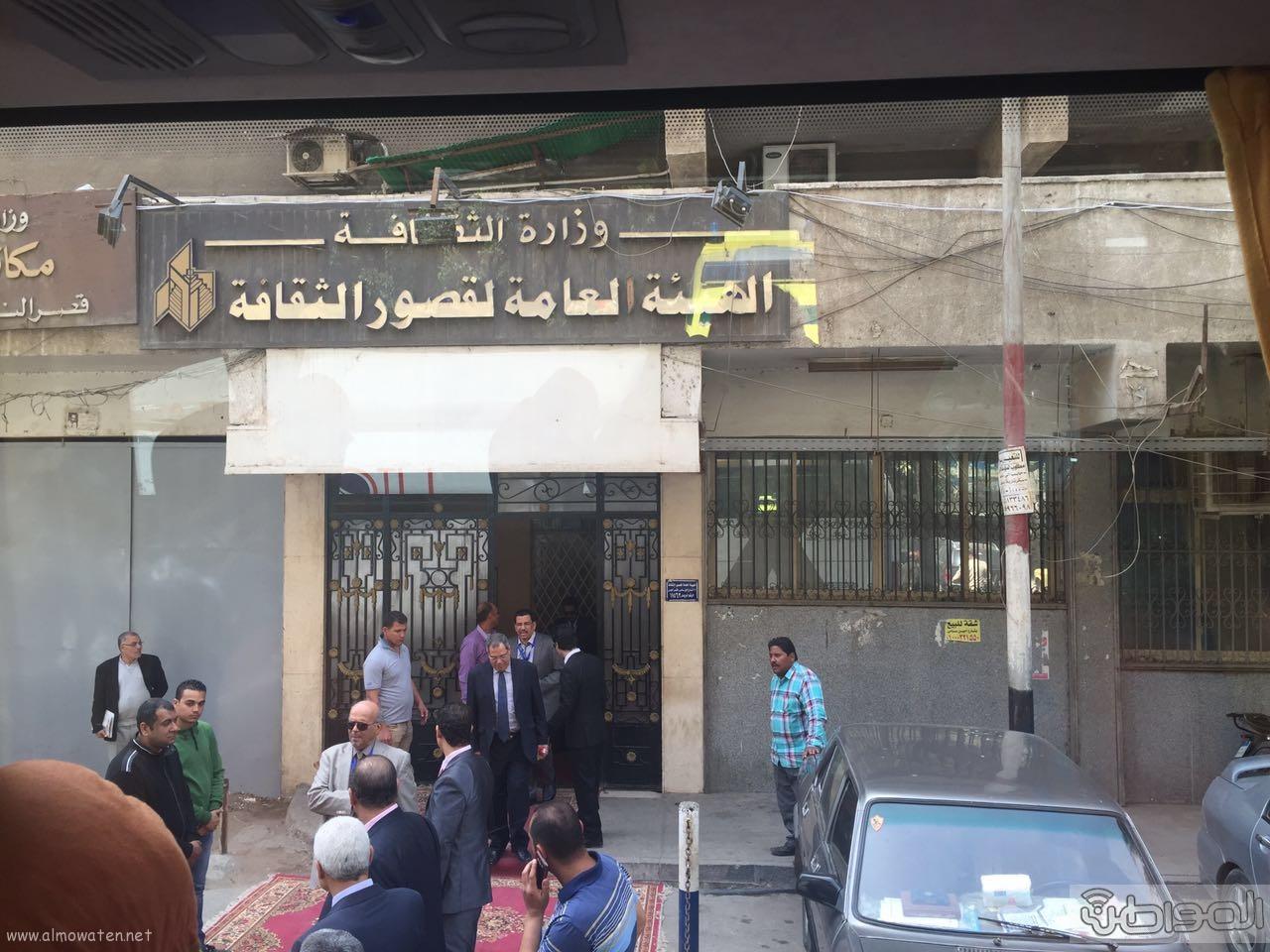 زيارة الوفد الاعلامي السعودي لقصور الثقافة بالقاهرة (2)