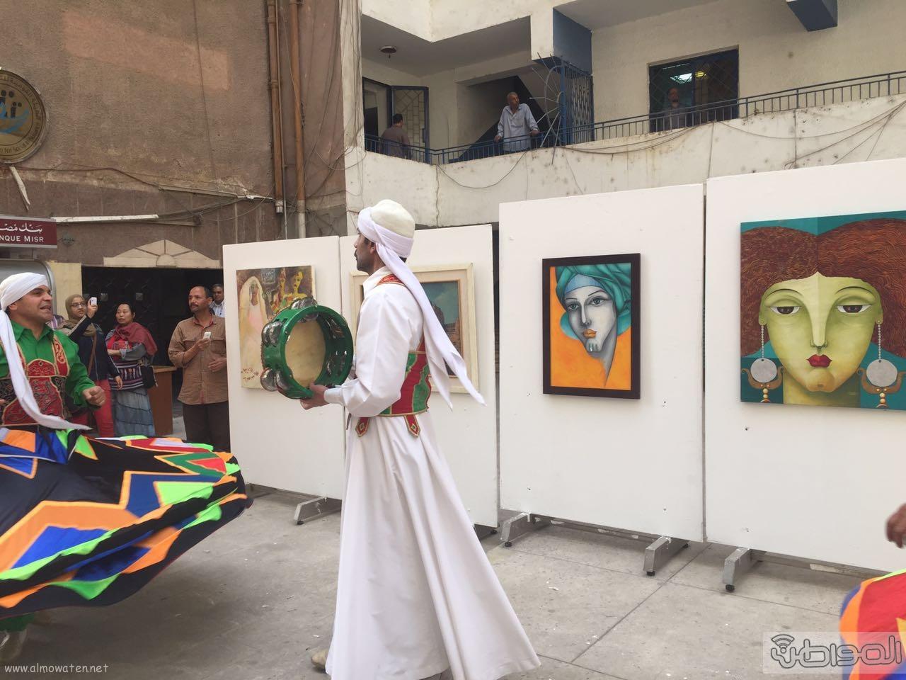 زيارة الوفد الاعلامي السعودي لقصور الثقافة بالقاهرة (8)