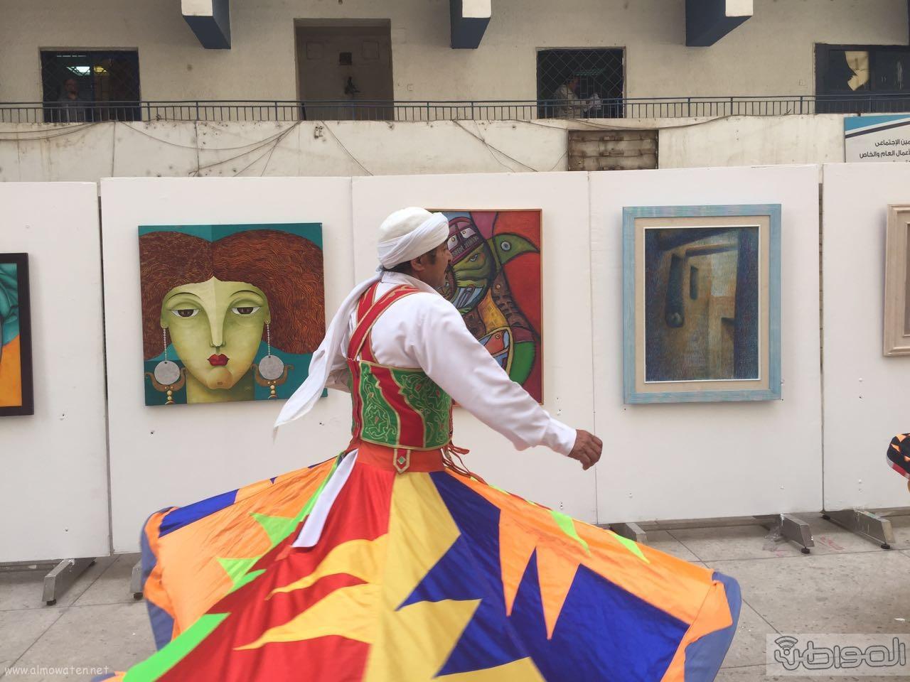 زيارة الوفد الاعلامي السعودي لقصور الثقافة بالقاهرة (9)