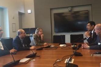 بالصور.. رؤساء تحرير الصحف السعودية يَزورون مقر الراديو الوطني العام في واشنطن - المواطن