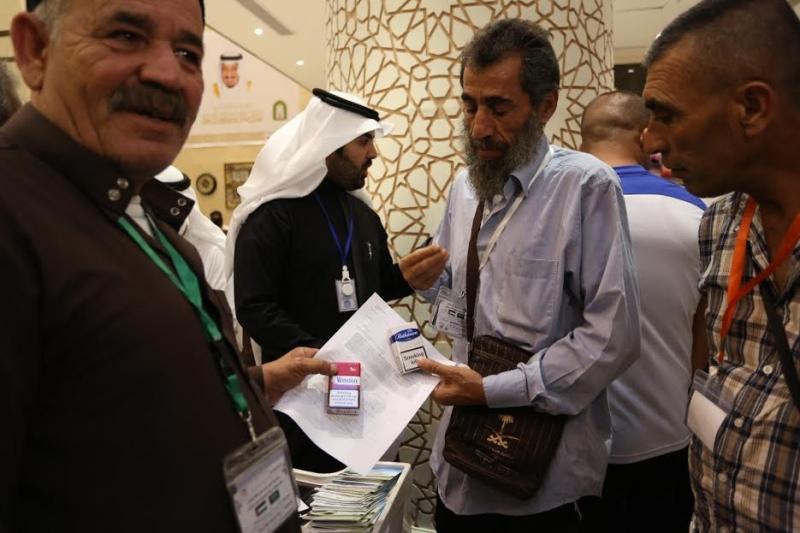زيارة جمعية مكافحة التدخين تجذب ضيوف برنامج خادم الحرمين للحج 3