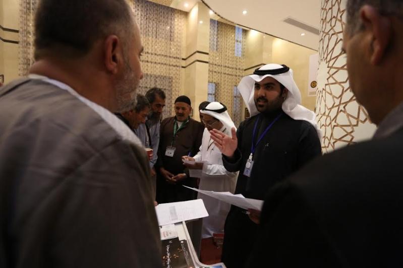 زيارة جمعية مكافحة التدخين تجذب ضيوف برنامج خادم الحرمين للحج