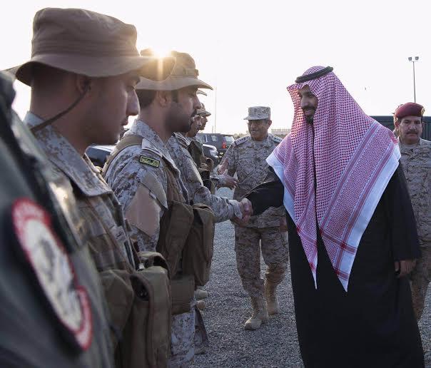 زيارة سمو ولي ولي العهد للمستشفى الميداني للقوات المسلحة بقطاع جازان12