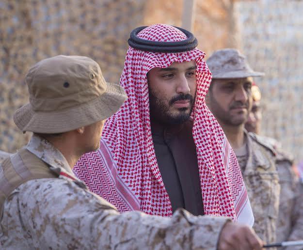 زيارة سمو ولي ولي العهد للمستشفى الميداني للقوات المسلحة بقطاع جازان14