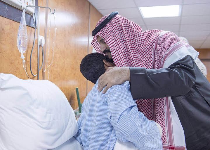 زيارة سمو ولي ولي العهد للمستشفى الميداني للقوات المسلحة بقطاع جازان2