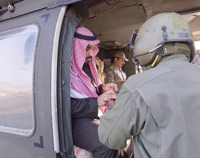 زيارة سمو ولي ولي العهد للمستشفى الميداني للقوات المسلحة بقطاع جازان3