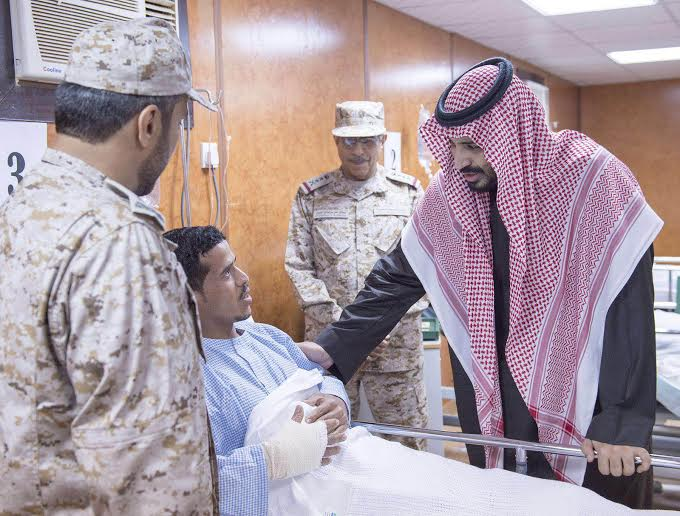 زيارة سمو ولي ولي العهد للمستشفى الميداني للقوات المسلحة بقطاع جازان5