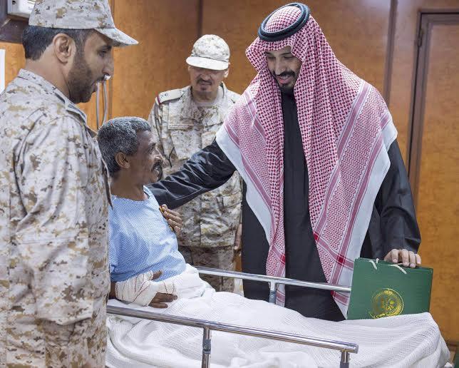 زيارة سمو ولي ولي العهد للمستشفى الميداني للقوات المسلحة بقطاع جازان6