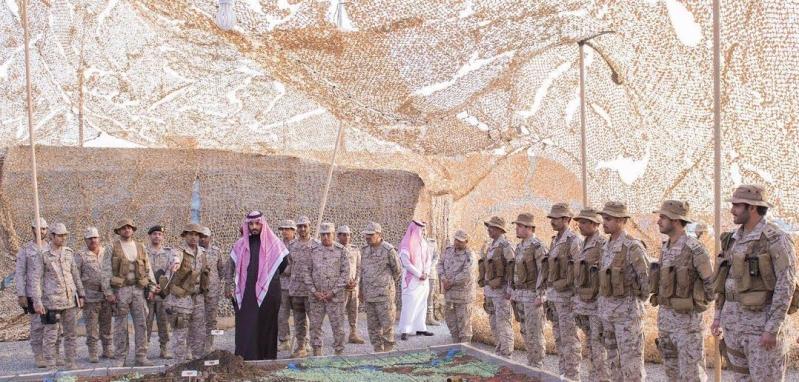 زيارة سمو ولي ولي العهد للمستشفى الميداني للقوات المسلحة بقطاع جازان7