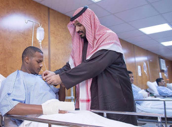 زيارة سمو ولي ولي العهد للمستشفى الميداني للقوات المسلحة بقطاع جازان8