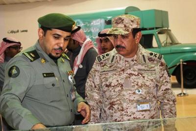 زيارة  قائد وحدة أمن وحراسة معسكر الجنادرية للجوازات 33