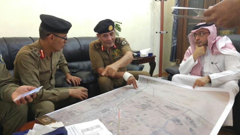 زيارة مدير الشرطة الى الحد الجنوبي (212518614) 
