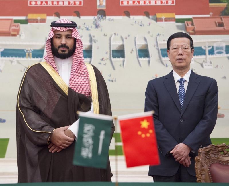 زيارة ولي ولي العهد للصين (1)