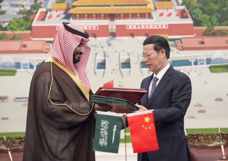 زيارة ولي ولي العهد للصين (11)