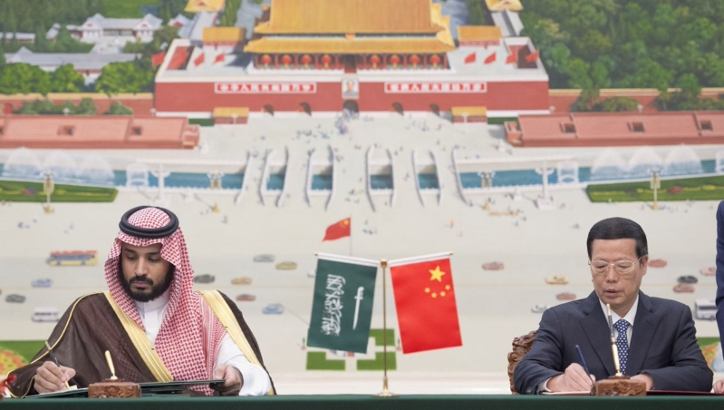 زيارة ولي ولي العهد للصين (18)