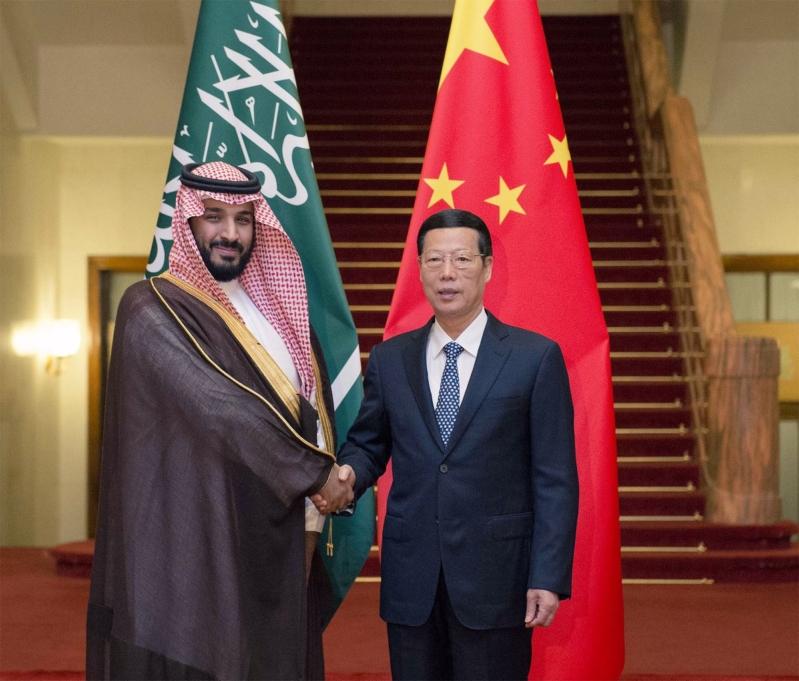 زيارة ولي ولي العهد للصين (6)