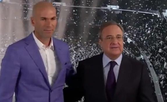 زيدان-يتولي-تدريب-ريال-مدريد