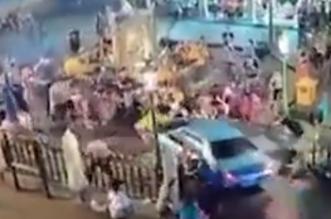 سائقة تصدم مجموعة سياح في تايلند بعد إصابتها بنوبة قلبية