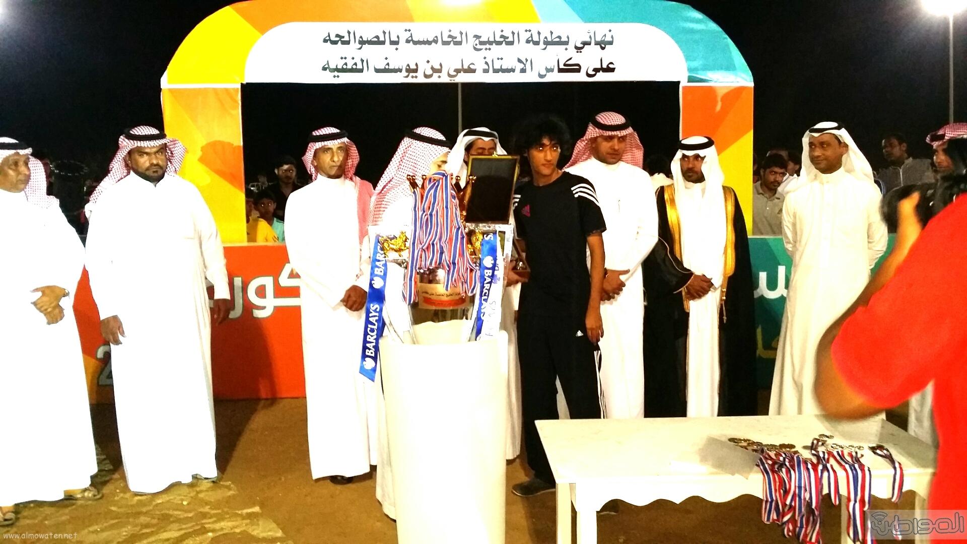 ساحل عسير السحاب يتوّج بطل لدورة الخليج الخامسة (6)
