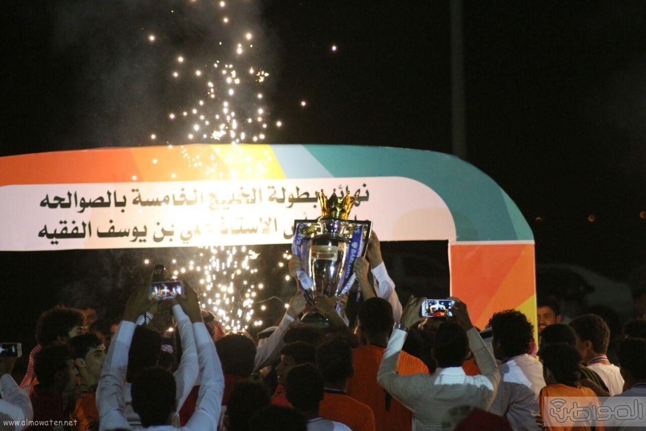 ساحل عسير السحاب يتوّج بطل لدورة الخليج الخامسة (9)