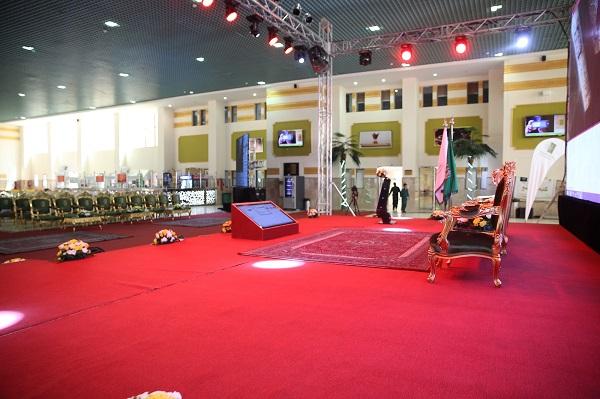 سارة بنت عبد الله ترعى الاحتفالية العاشرة بتخريج 2597 من طالبات جامعة الجوف (1)