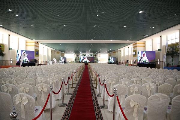 سارة بنت عبد الله ترعى الاحتفالية العاشرة بتخريج 2597 من طالبات جامعة الجوف (2)