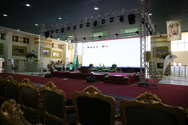 سارة بنت عبد الله ترعى الاحتفالية العاشرة بتخريج 2597 من طالبات جامعة الجوف (3)