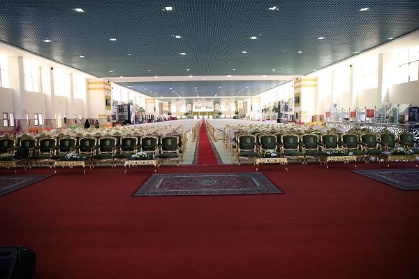 سارة بنت عبد الله ترعى الاحتفالية العاشرة بتخريج 2597 من طالبات جامعة الجوف (4)