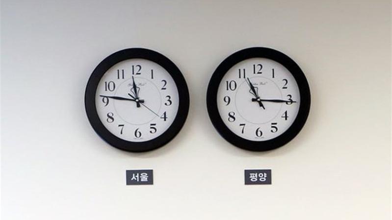 نصف ساعة توحد الكوريتين!