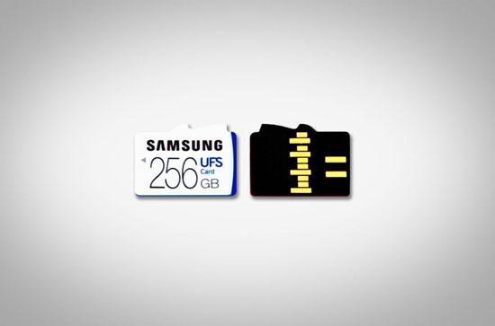 سامسونغ تكشف عن بطاقات ذاكرة بسعة تصل إلى 256 غيغابايت (1)