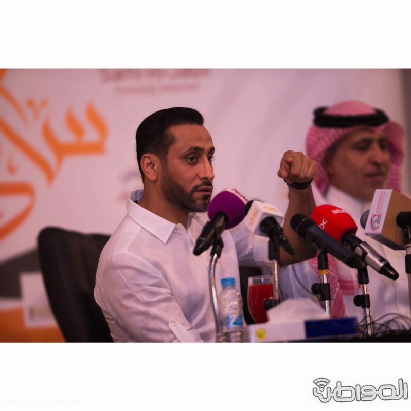 سامي الجابر في اول مؤتمر له (1) 