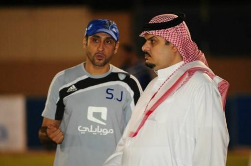 سامي الجابر و عبدالرحمن بن مساعد