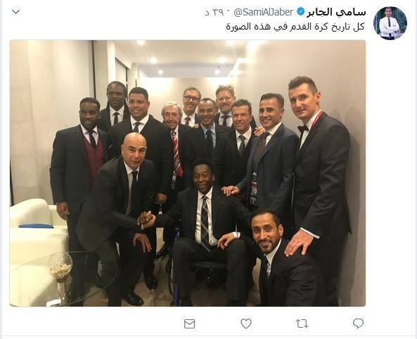سامي الجابر ينشر هذه الصورة.. ويؤكد: كل تاريخ كرة القدم - المواطن