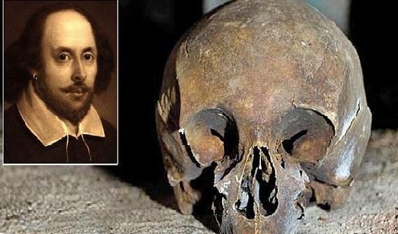 سرقة جمجمة شكسبير