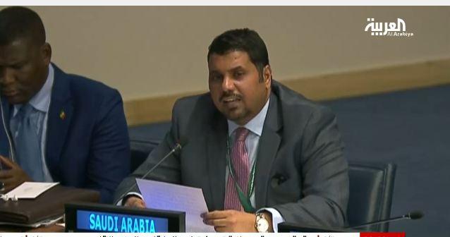 سعد السعد نائب المندوب السعودي بالامم المتحدة