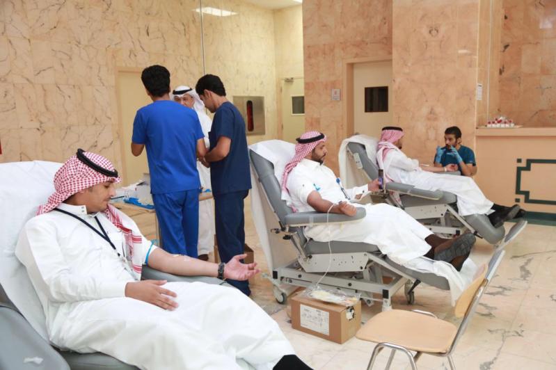 سعود الطبية تُعايد مرضاها بحملة للتبرُع بالدم